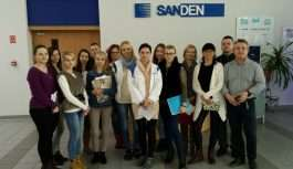 Studenci UJW w Sanden