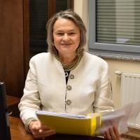 na zdj. Elżbieta Grabowska, koordynator PUTW działającego przy Uczelni Jana Wyżykowskiego