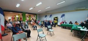 na zdjęciu inauguracja programu LOWE dla mieszkańców Gminy Chocianów